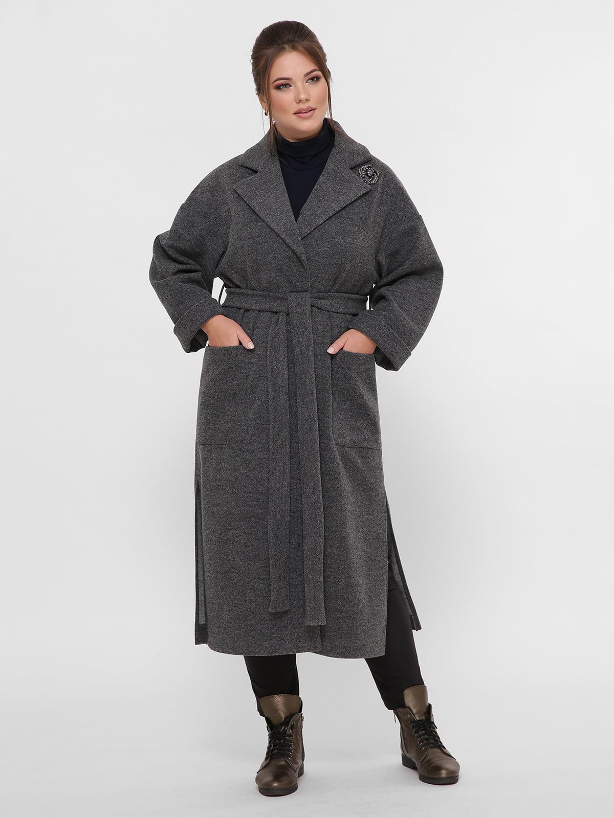 Пальто серое | 5224202