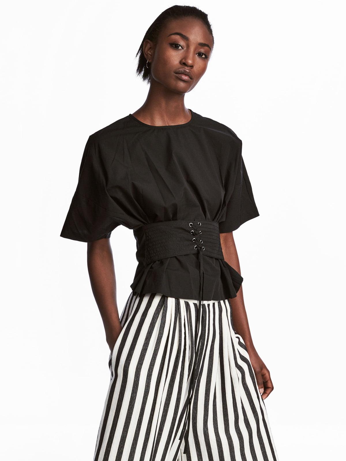 Блуза черная   5223851