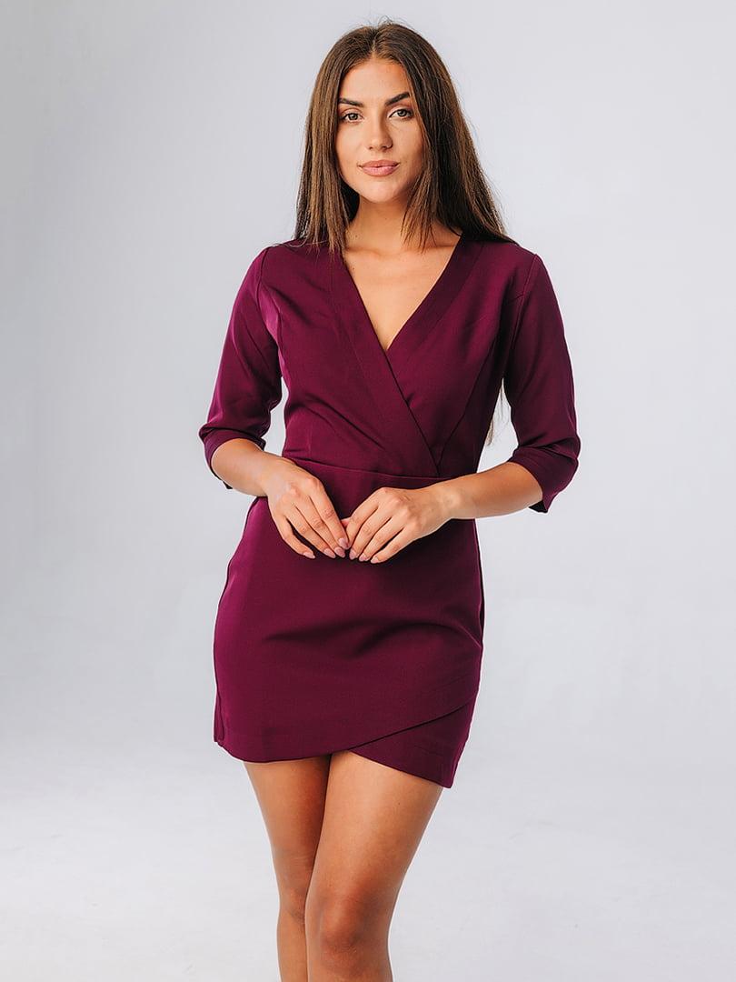 Платье цвета марсала | 5225857
