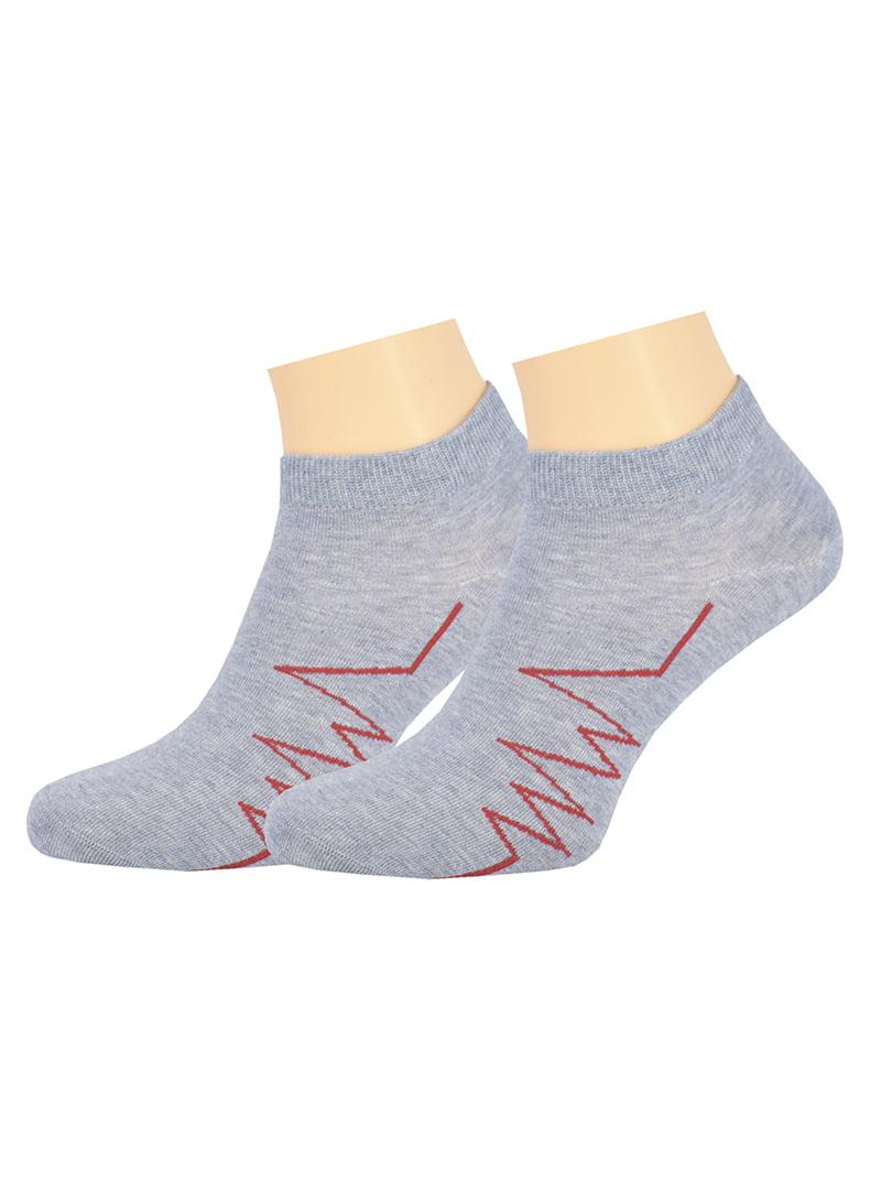 Шкарпетки сіро-блакитні | 5225875