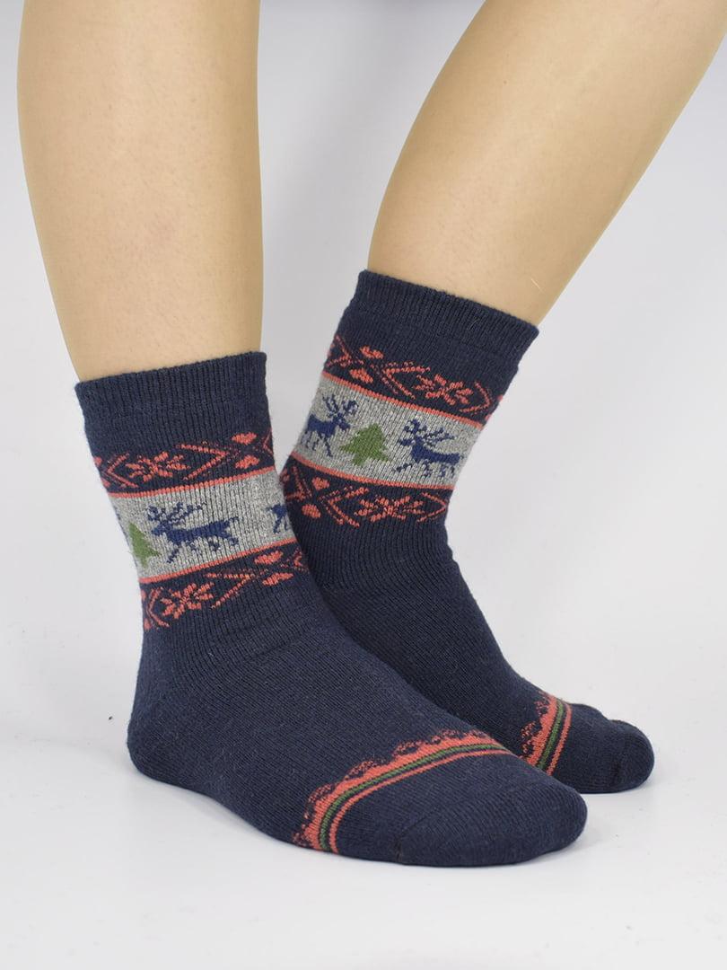 Шкарпетки сині з малюнком   5226469