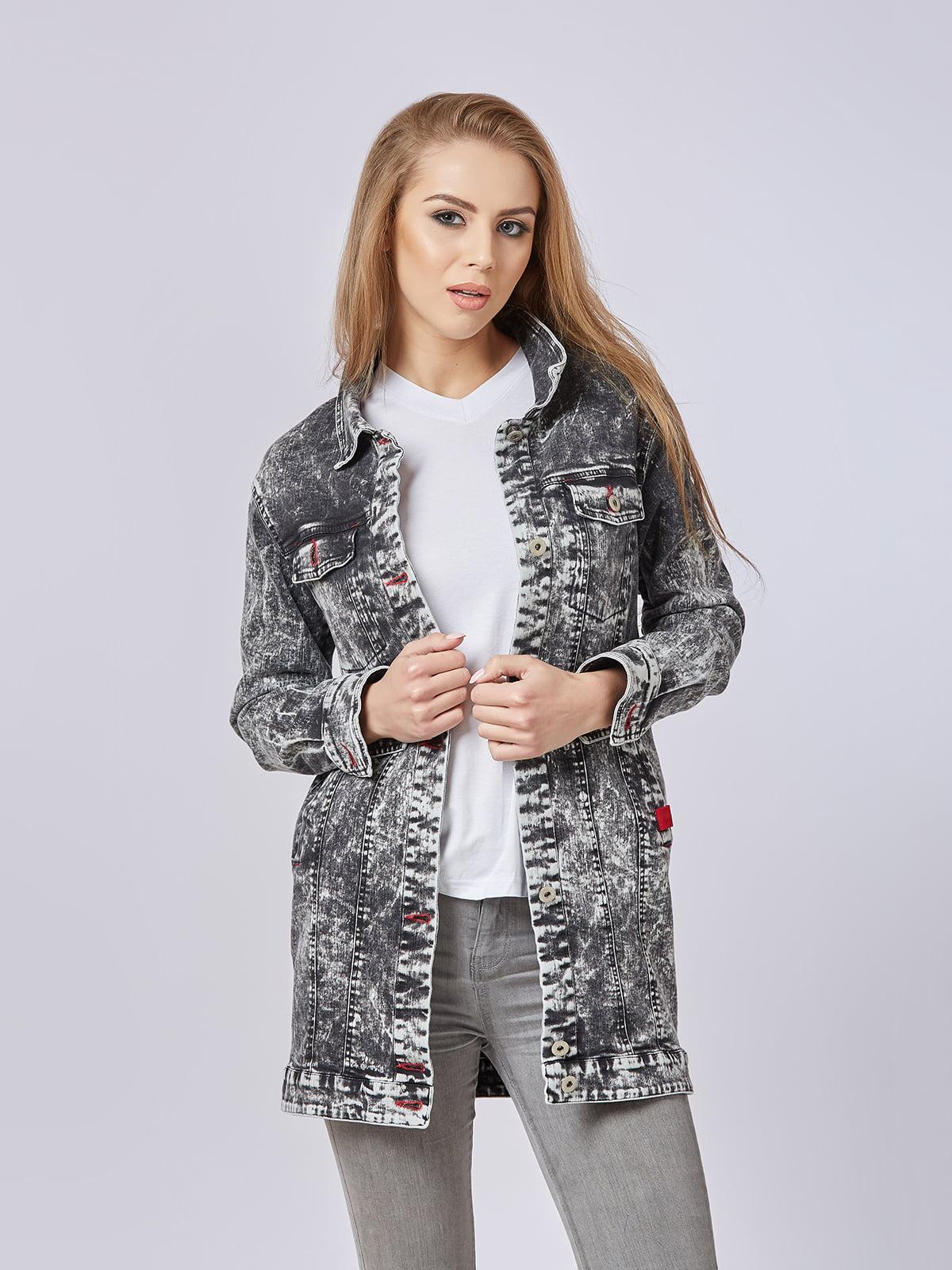 Куртка черная джинсовая | 5224725