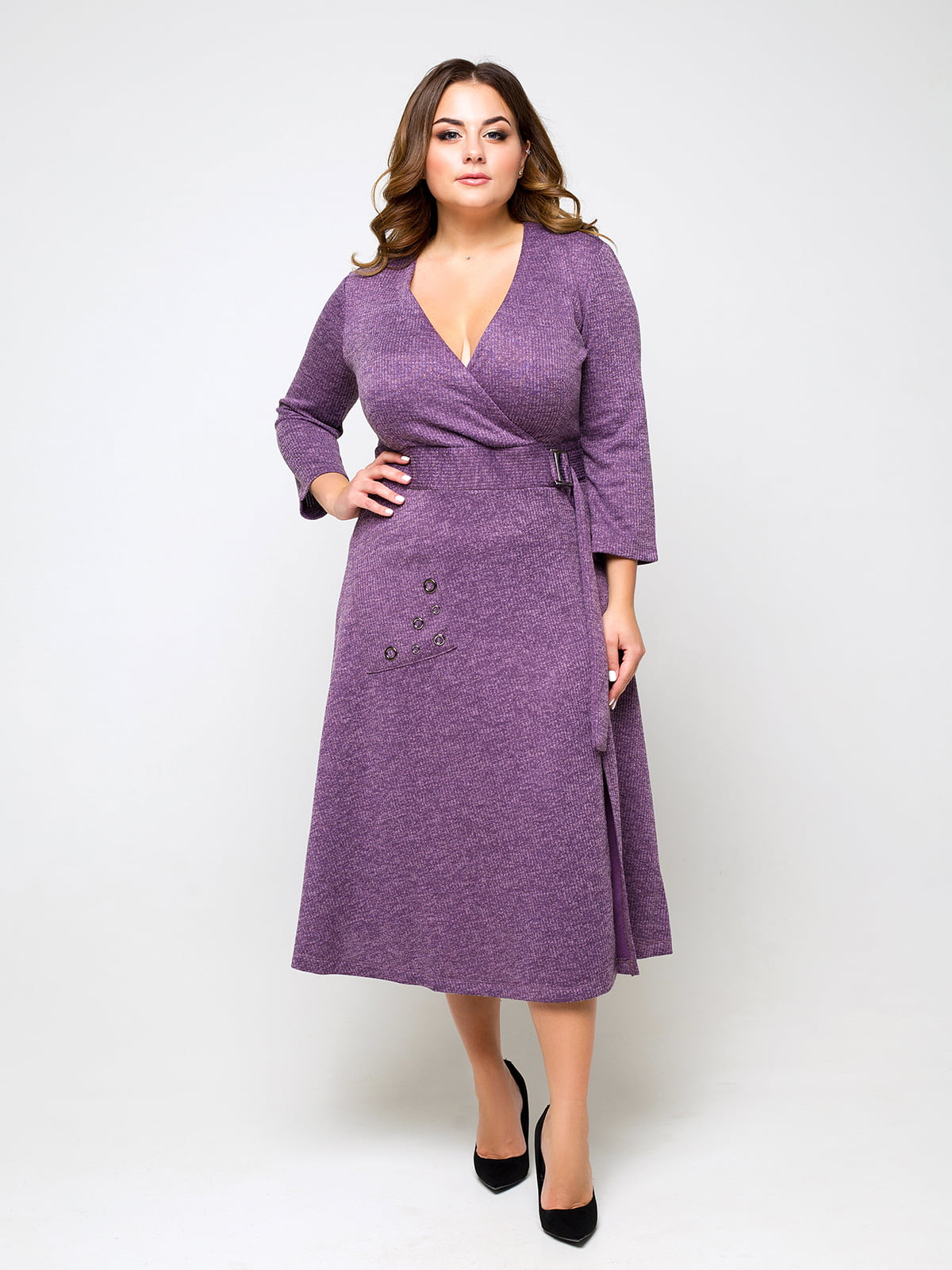 Платье темно-сиреневого цвета | 5226892
