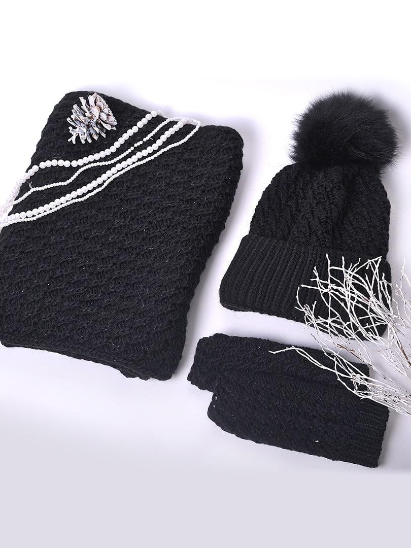 Комплект: шапка, хомут і рукавички   5227634