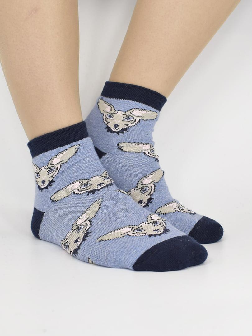 Шкарпетки світло-сині | 5226063