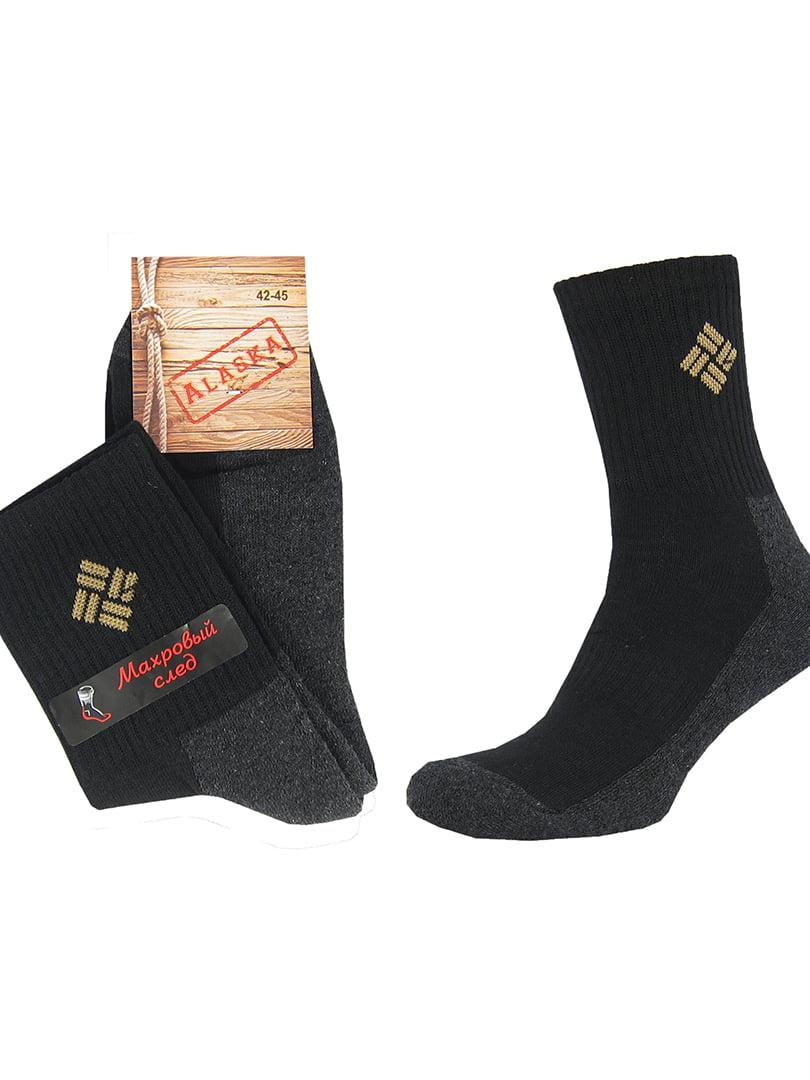 Термошкарпетки чорно-сірі   5226582