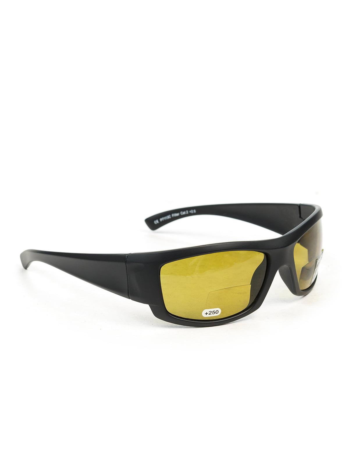 Окуляри сонцезахисні чорні | 3958890