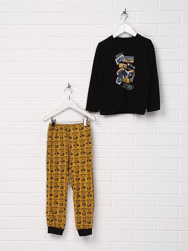 Пижама: лонгслив и брюки   5229065
