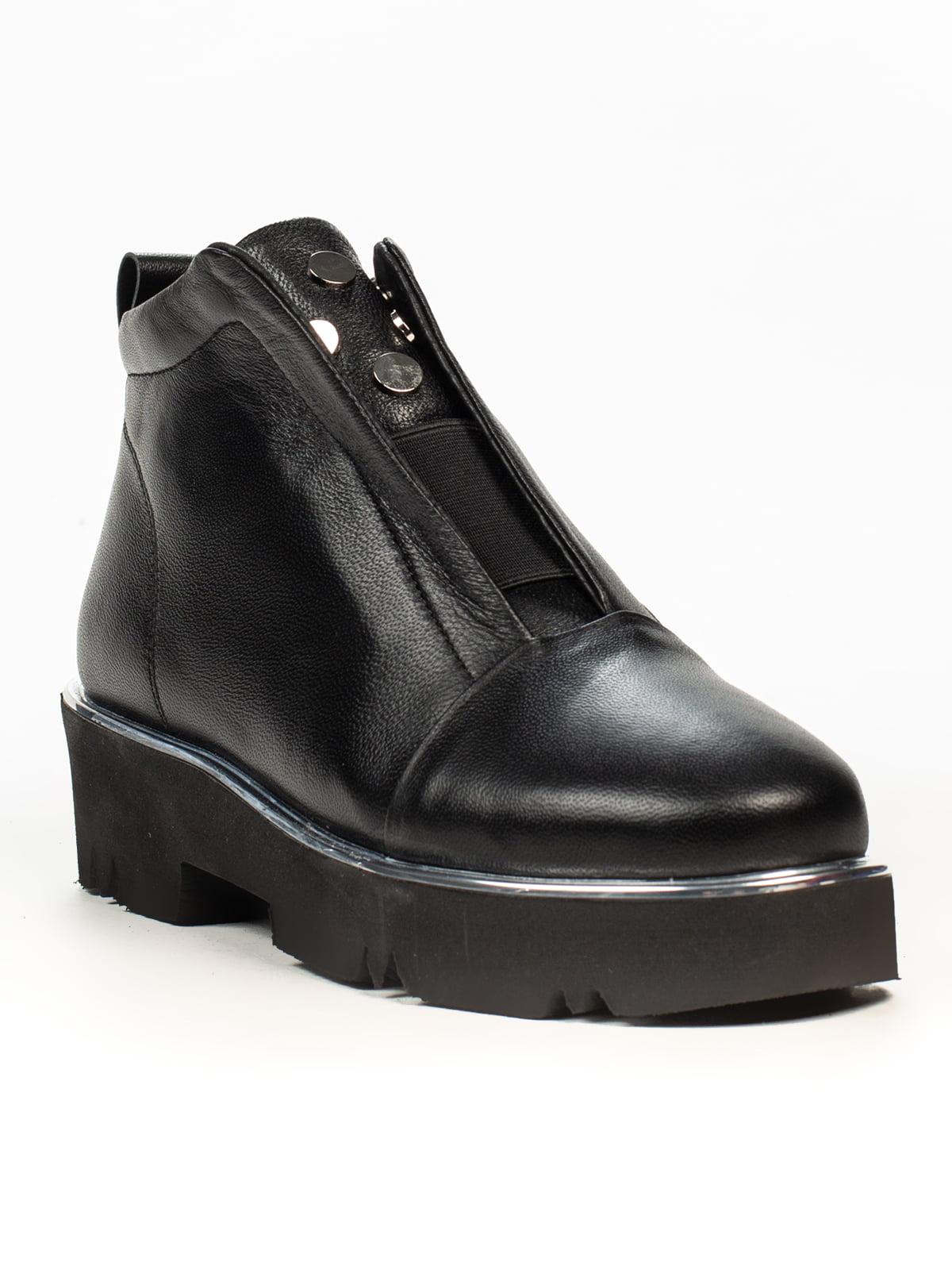 Ботинки черные   5222400