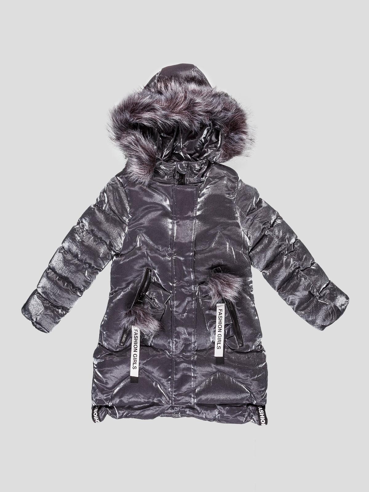 Пальто сіре | 5228748