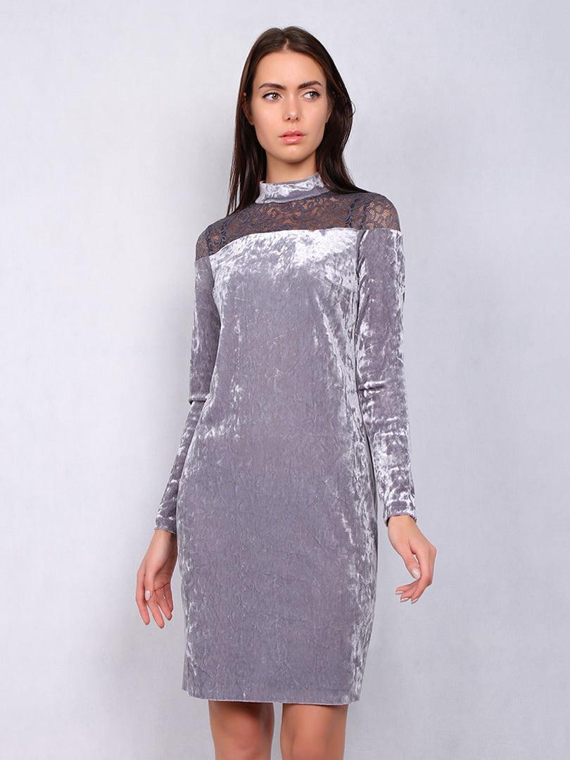 Платье серое | 4836837