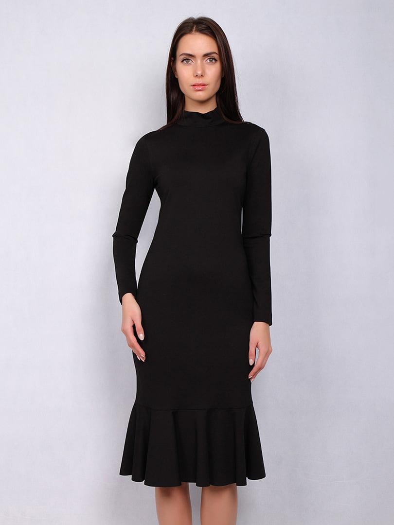 Платье черное | 4836857