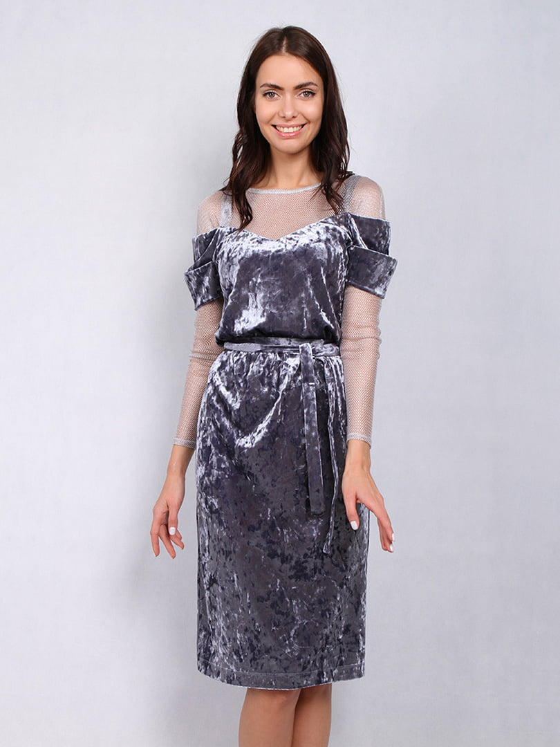 Платье серое | 4836862