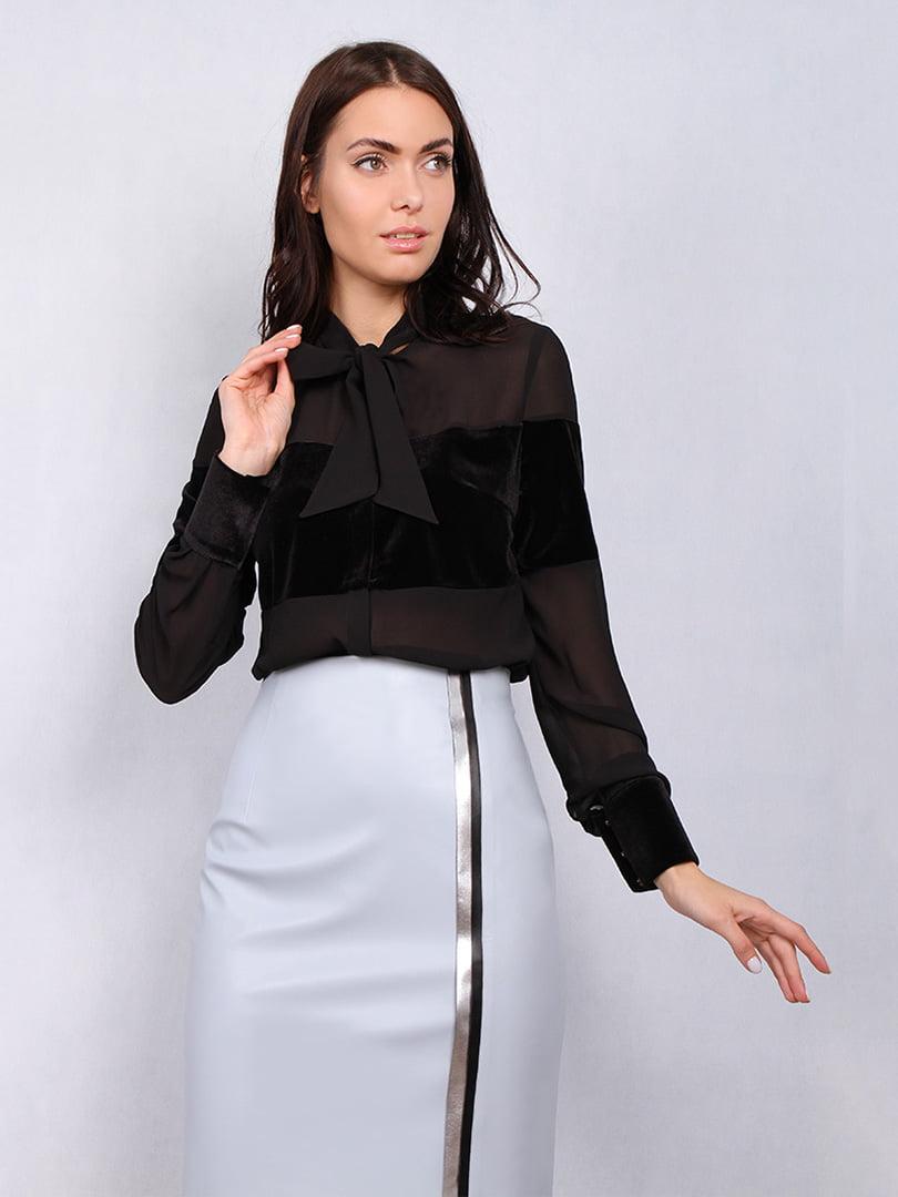 Блуза черная | 5109680