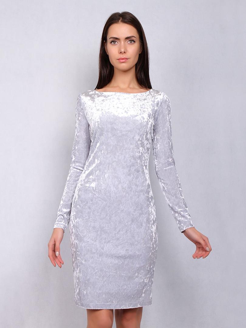 Платье серое | 5109759