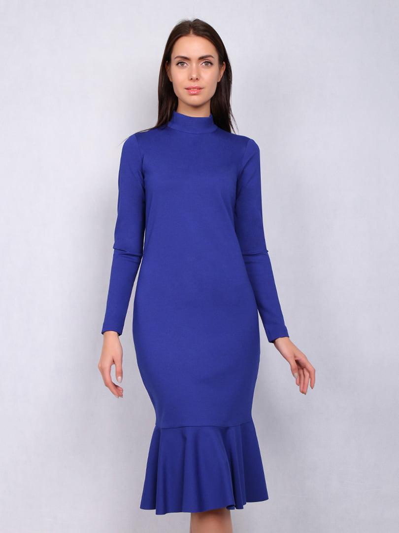 Платье цвета электрик | 5109791