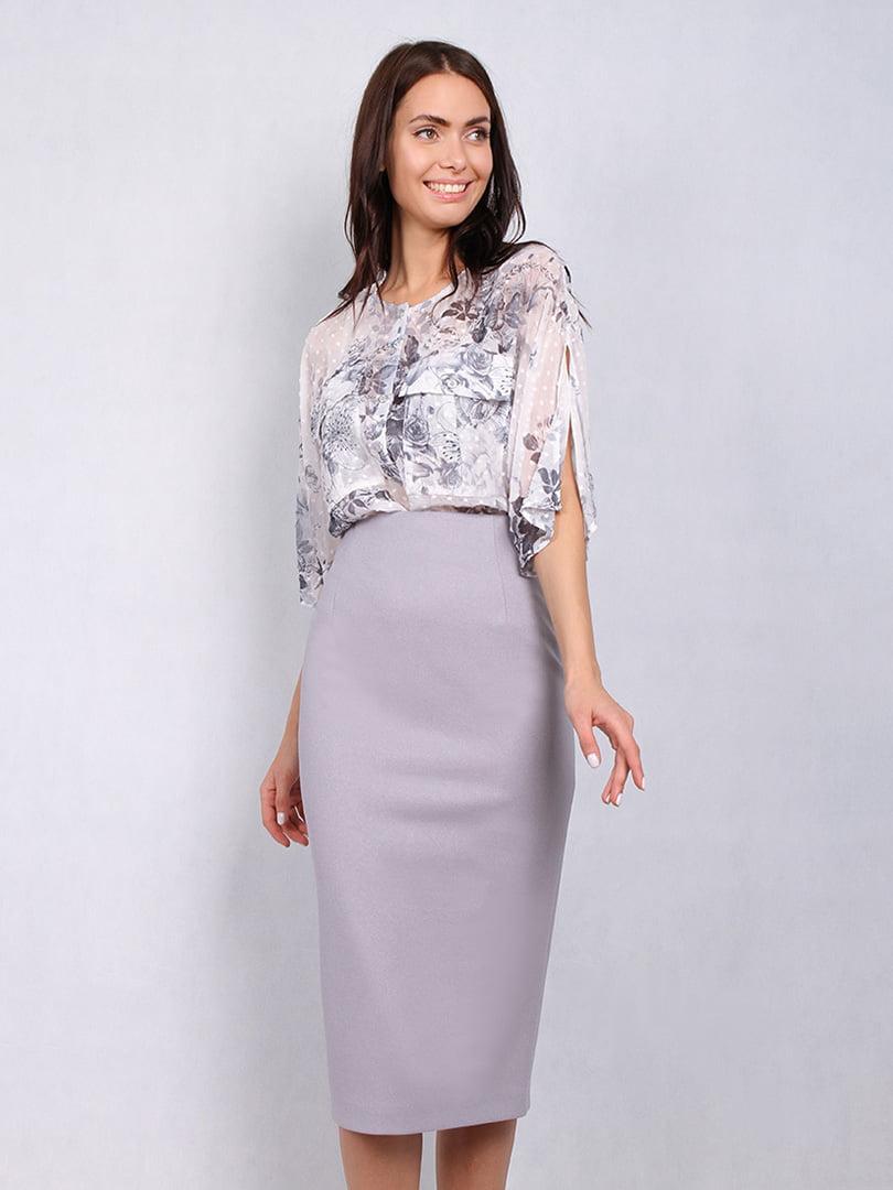 Блуза в квітковий принт | 5114057