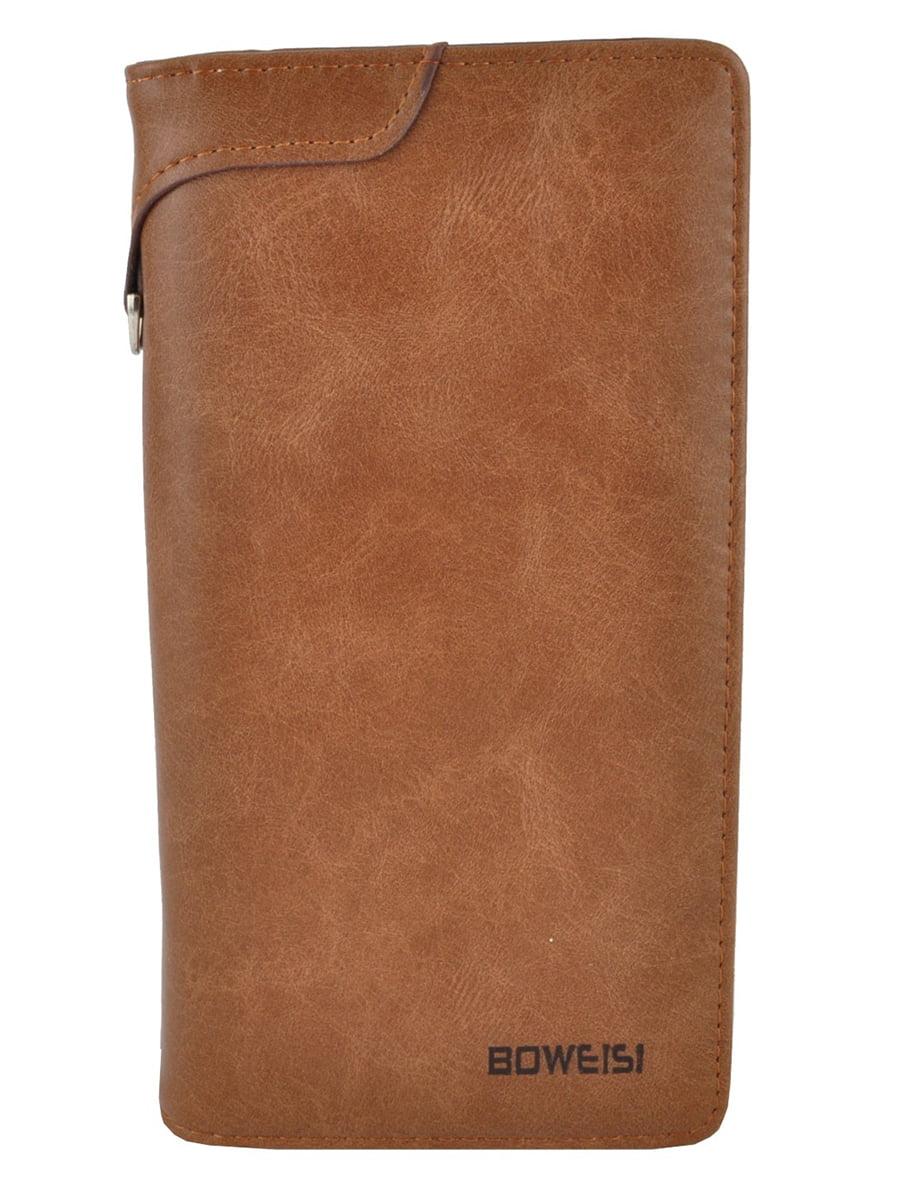 Гаманець-портмоне коричневий | 5231323