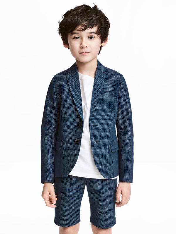 Піджак синій | 5231334