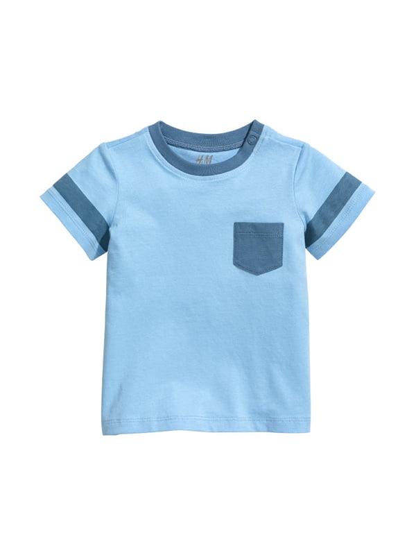 Футболка блакитна | 5231570