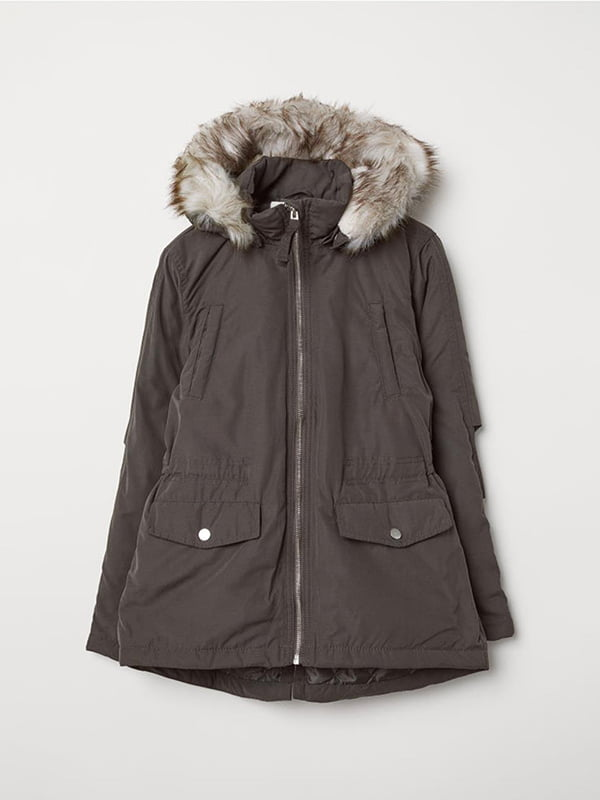 Куртка темно-сіра | 5231630