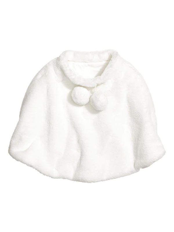 Пончо біле | 5231635
