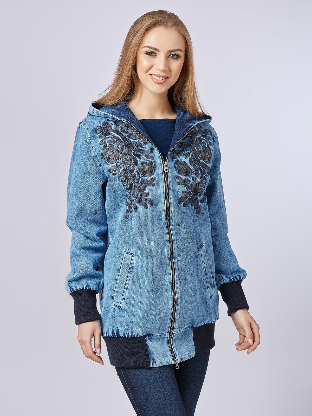 Куртка синя джинсова   5232220