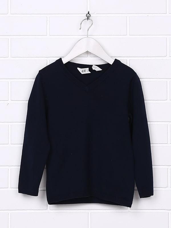 Пуловер синій | 5231345