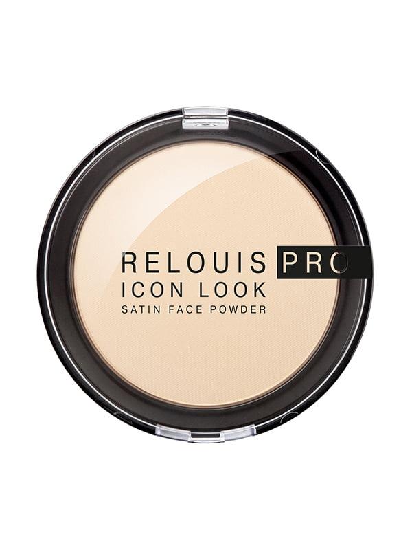 Пудра компактна Relouis Pro Icon Look   4932814