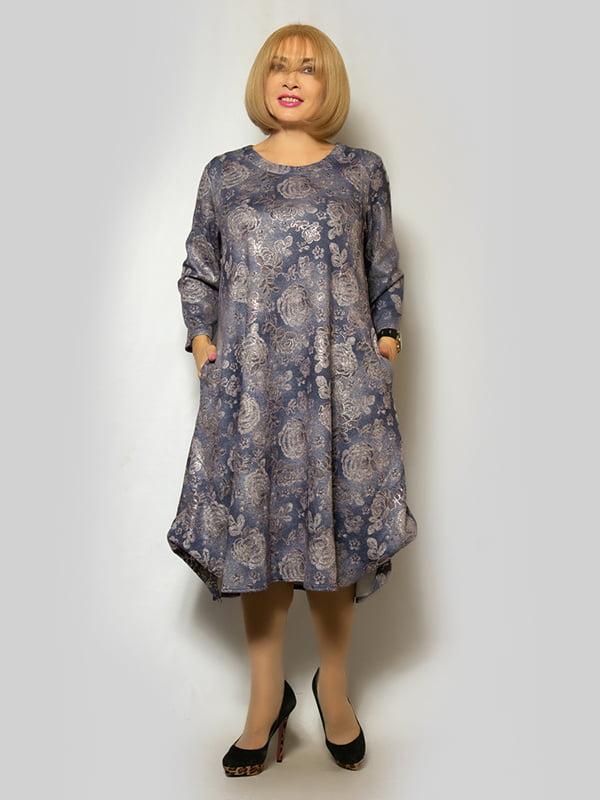 Платье сиреневое | 5232397