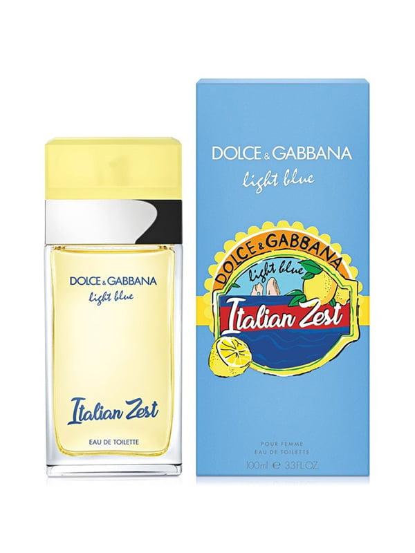 Парфумована вода Dolce&gabbana Light Blue Italian Zest (100 мл) — тестер   5237362