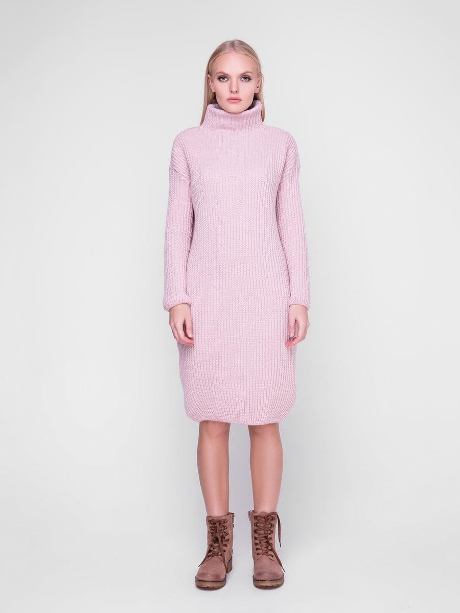Сукня кольору пудри | 5237713