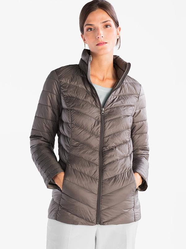 Куртка темно-бежевый | 5241218