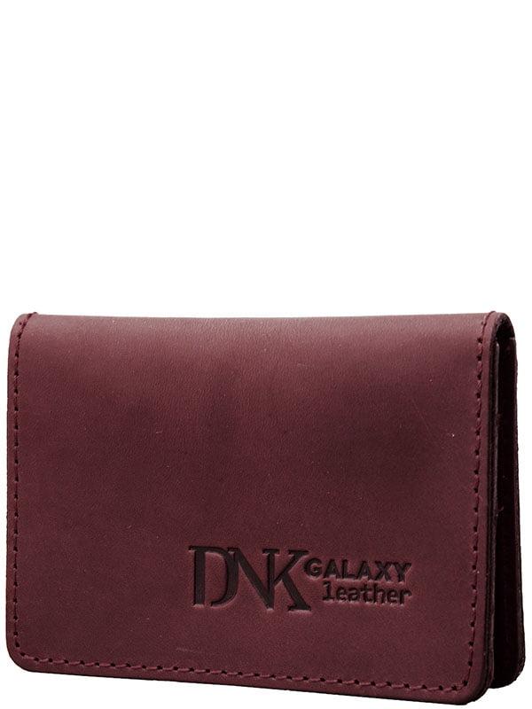 Обкладинка для ID-паспорта бордова | 5241729