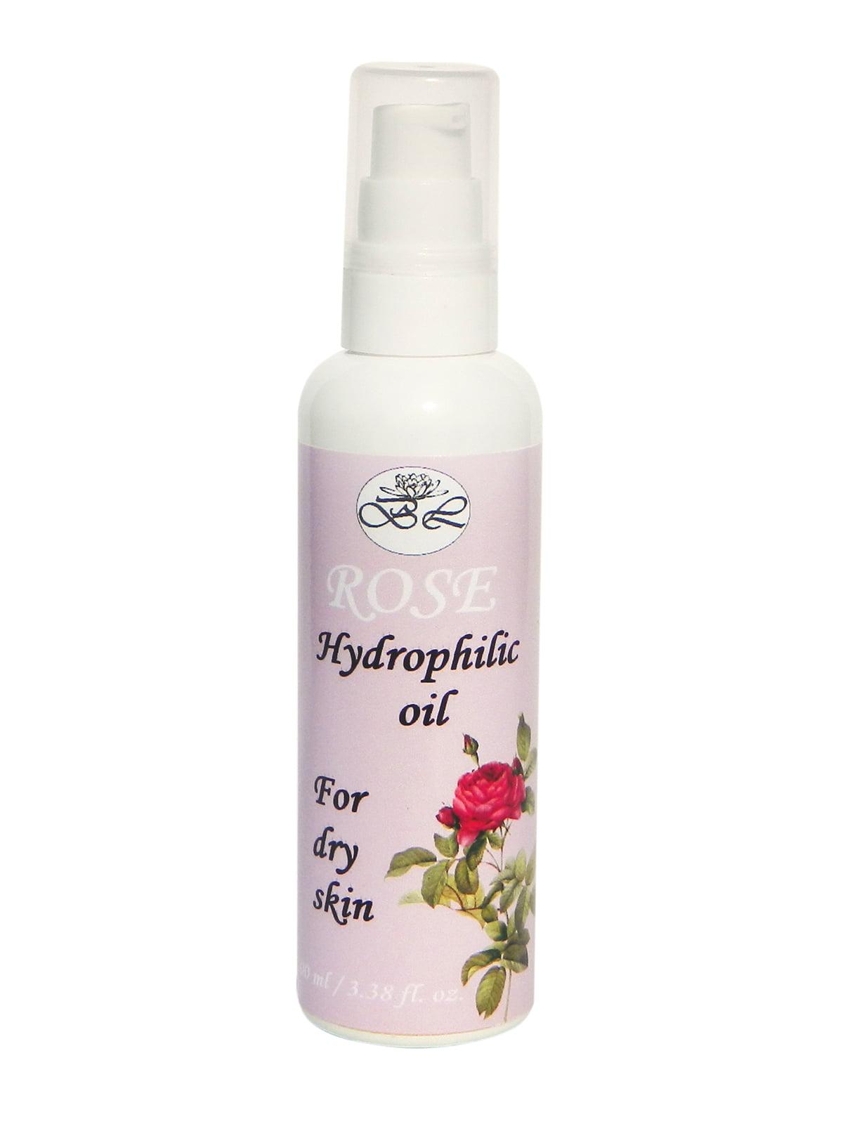 Гідрофільне масло «Роза» для сухої шкіри (100 мл)   5241543