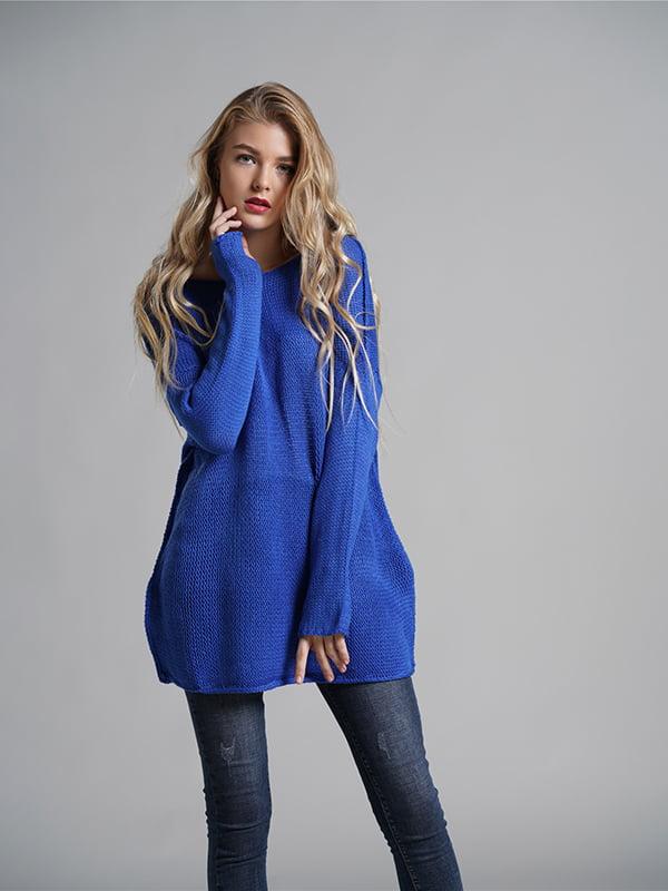 Джемпер синій | 5241294