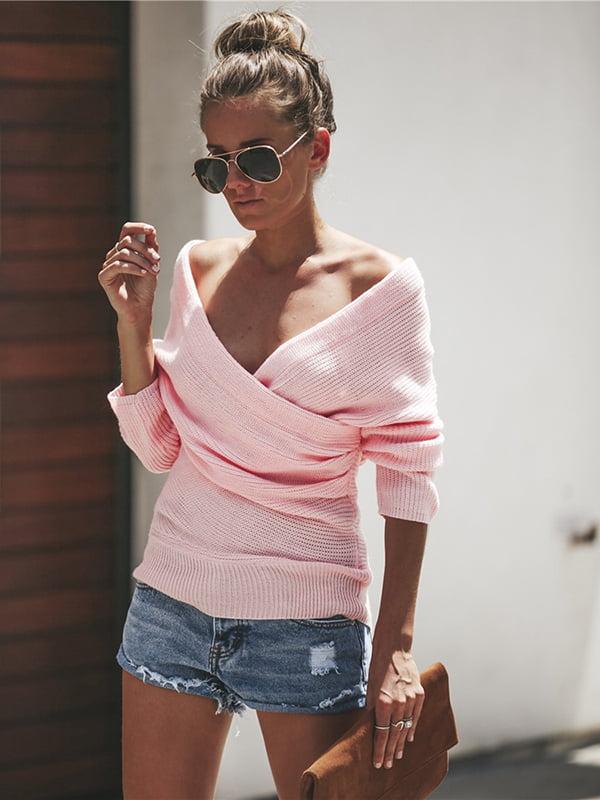 Джемпер рожевий | 5241298