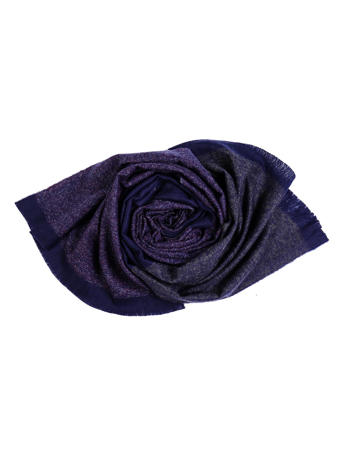 Шарф темно-синій | 5242404