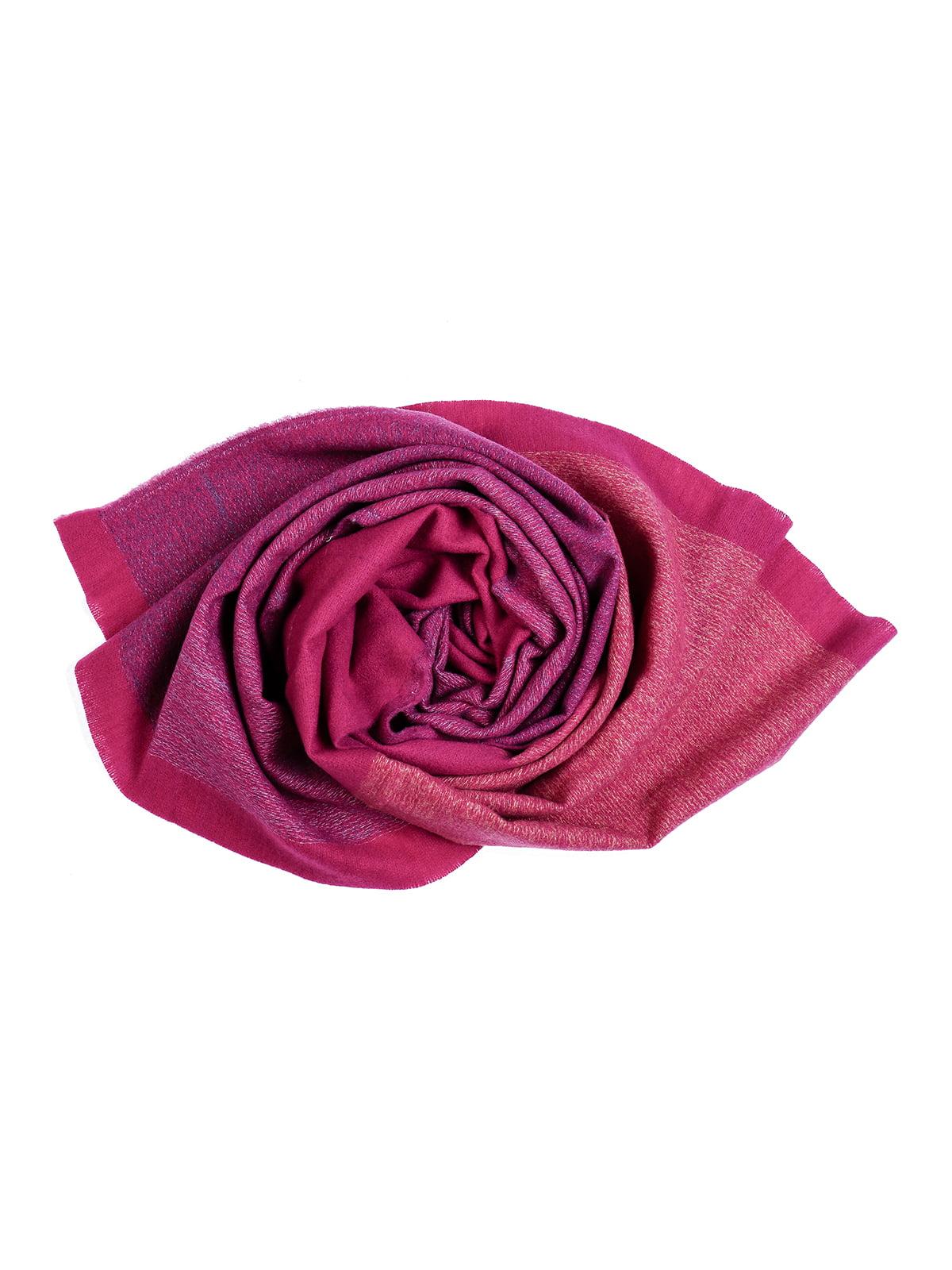 Шарф темно-рожевий | 5242409