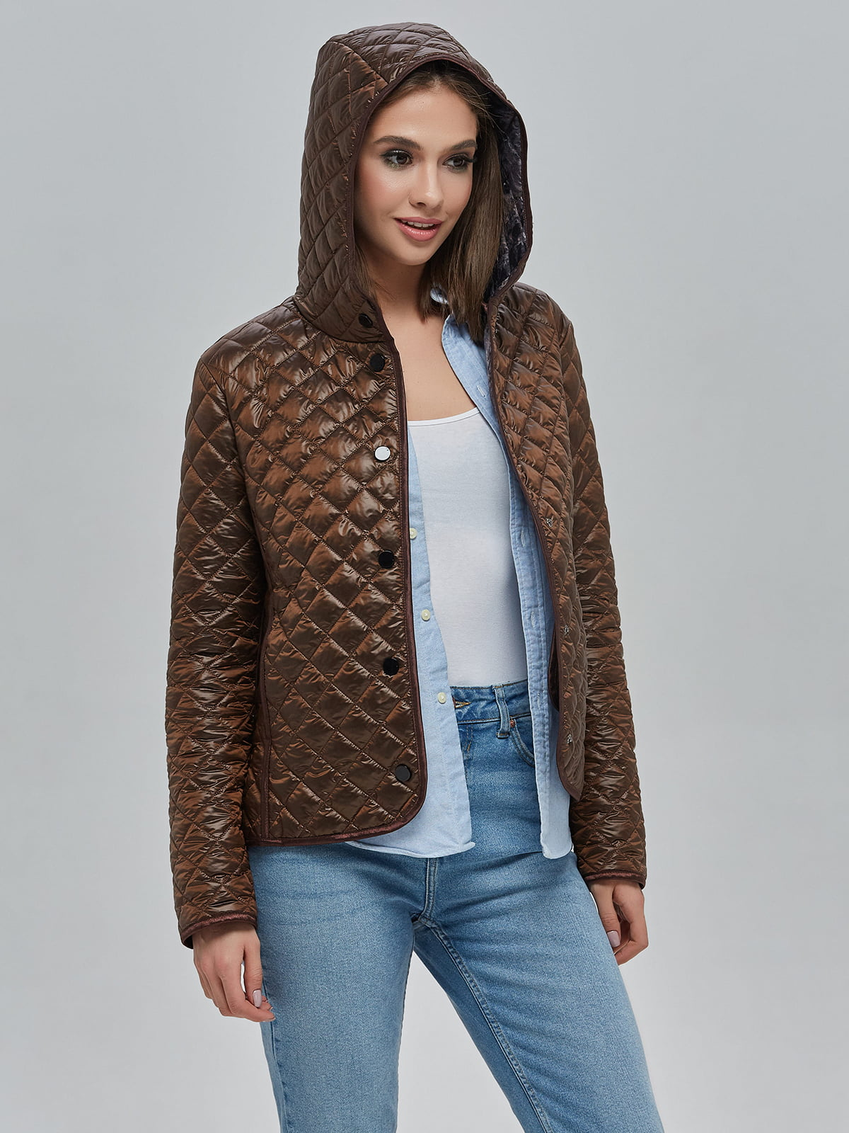 Куртка шоколадного кольору   5216100