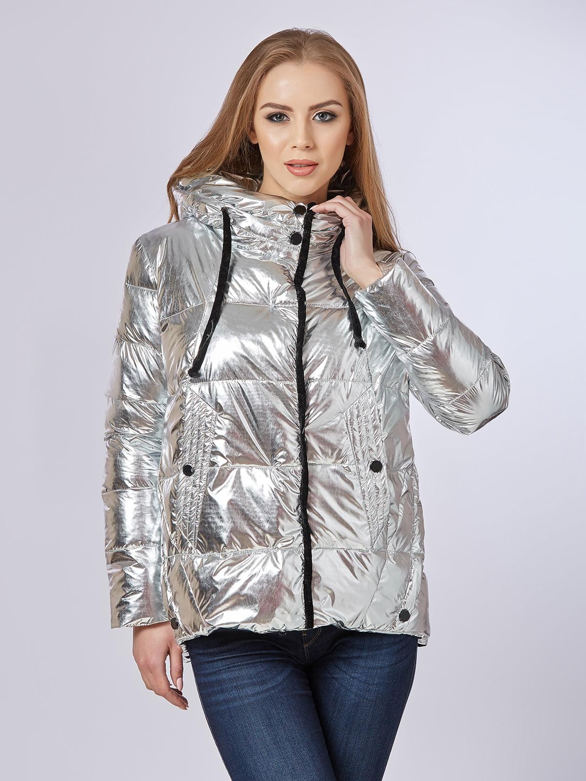 Куртка срібляста   5216130