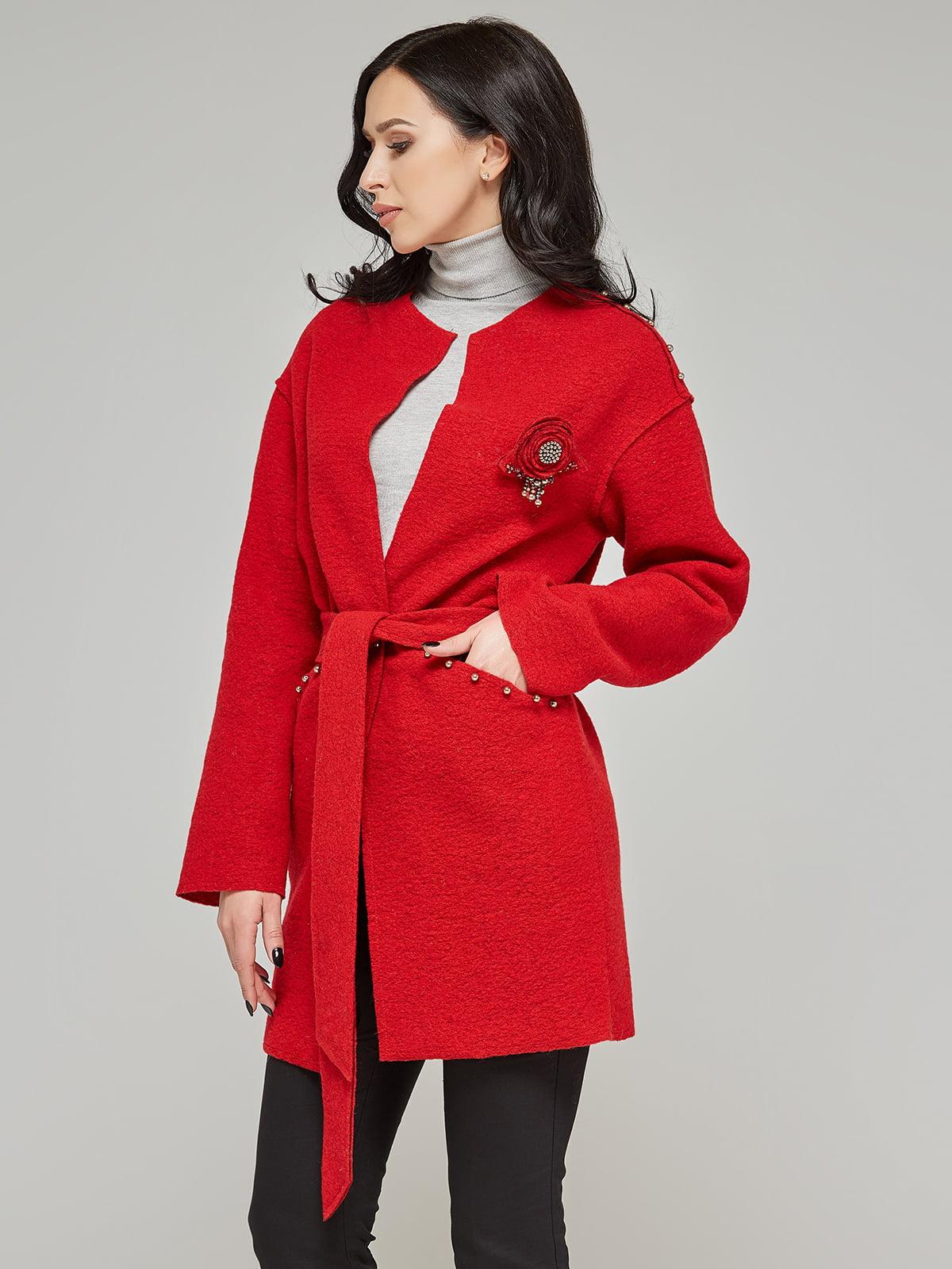 Пальто червоне | 5224715