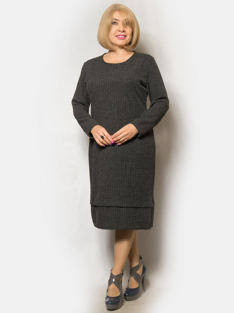 Платье серое | 5243286