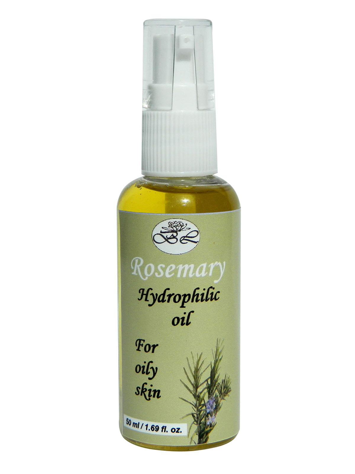 Гідрофільна олія «Розмарин» для жирної шкіри (50 мл) | 4396136