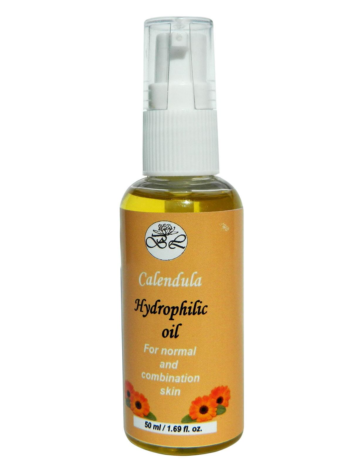 Гідрофільна олія «Календула» для нормальної та комбінованої шкіри (50 мл)   4396138