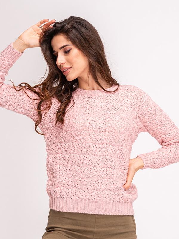 Джемпер розовый | 5243491