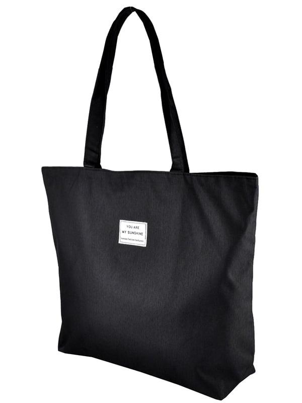 Сумка-шоппер черная   5243578