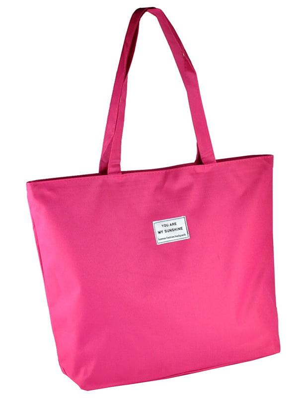 Сумка-шоппер рожева   5243582