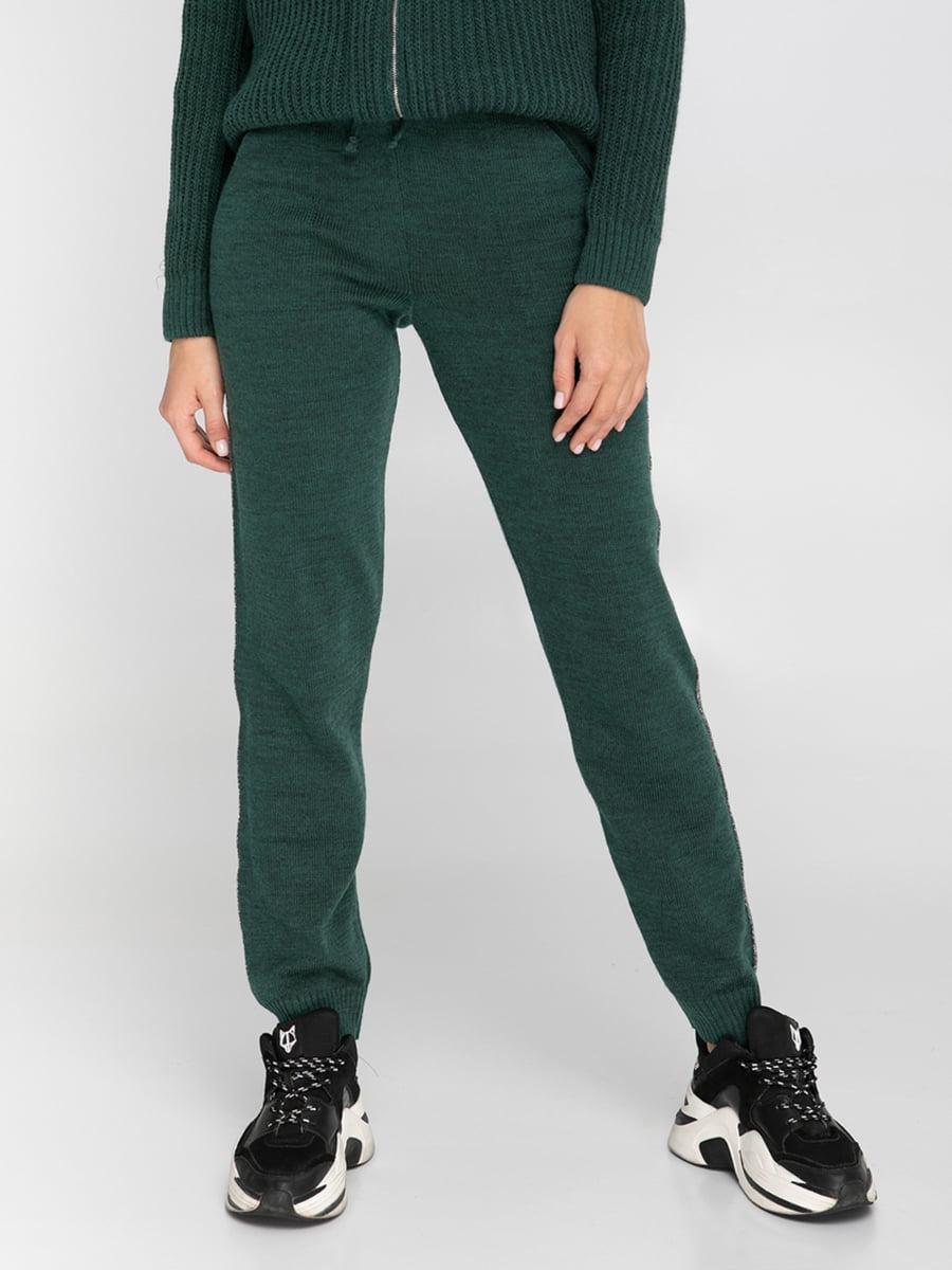 Штани темно-зелені | 5243691
