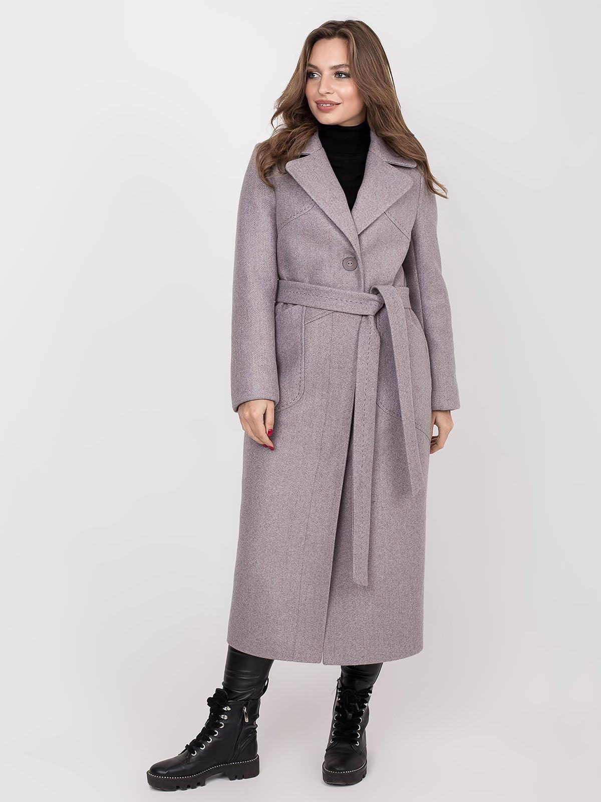 Пальто сіре | 5244194